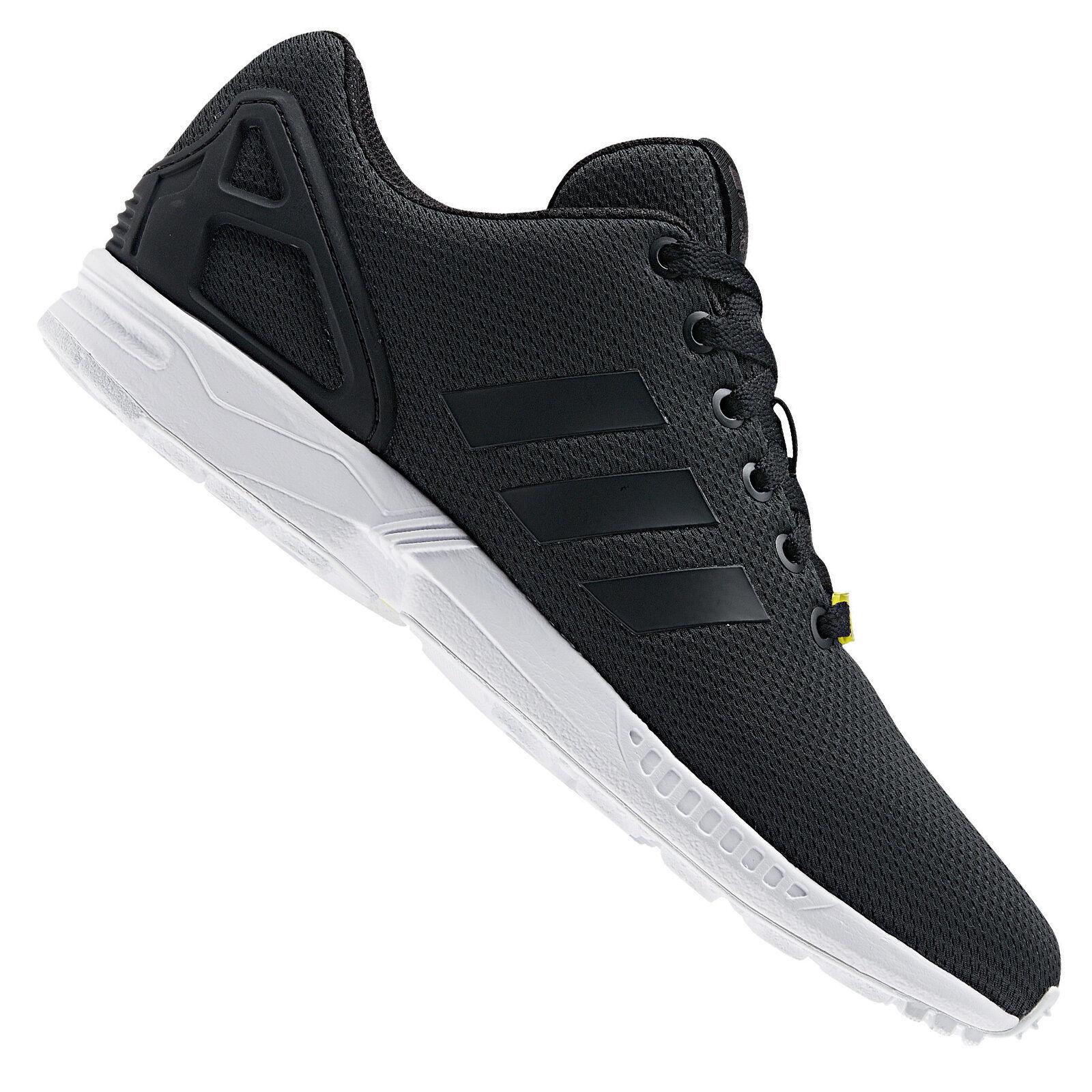 Adidas Originals Zx Flux Zapatillas Zapatillas Zapatillas Deportivas Zapatos Botas Deportes Negro 31e4f3