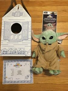 Build A Bear Star Wars The Mandalorian The Child Baby Yoda Sleeper NWT