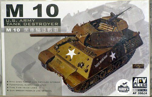 AFV Club M10 Tank-Destroyer 1 35 NIB
