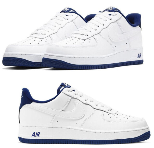 Nike Air Force 1 Low Women S Size 9m Leather Purple And White