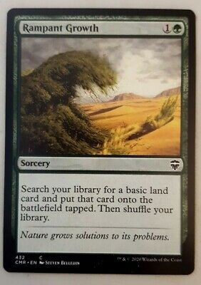 Rampant Growth 7th Edition NM Green Common MAGIC THE GATHERING CARD ABUGames