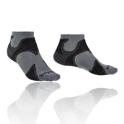 Dolce Bridgedale Da Uomo Trail Calze Ultra Leggero T2 Merino Cool Comfort Nero Grigio Sport-mostra Il Titolo Originale