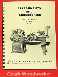 Metalworking Manuals, Books & Plans SOUTH BEND 10