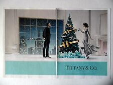 PUBLICITE-ADVERTISING :  TIFFANY & Co. New York [2pages] 2014 Bijoux,Mode,Noël