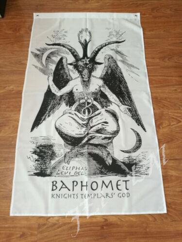 Baphomet Church Knights Templar 3x5 Feet Banner Flag
