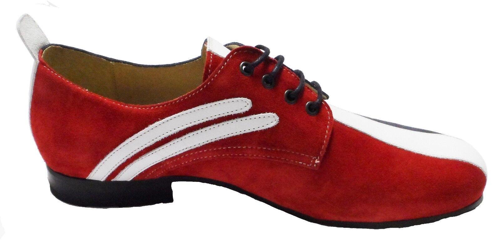 DELICIOUS JUNCTION Original Dachs Rot Weiß und blau Mod Schuhe