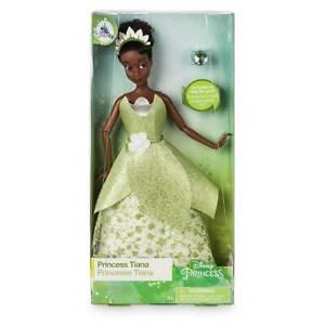 TIANA principessa bambola Barbie Disney Store con anello 2018