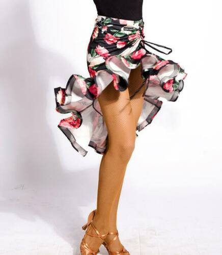 2019 Adult Latin Dance Practice Skirts Salsa Tango Rumba Cha Cha Samba Ballroom