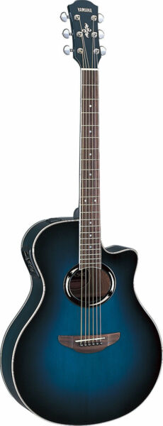 yamaha apx 500 acoustic electric guitar for sale online ebay. Black Bedroom Furniture Sets. Home Design Ideas