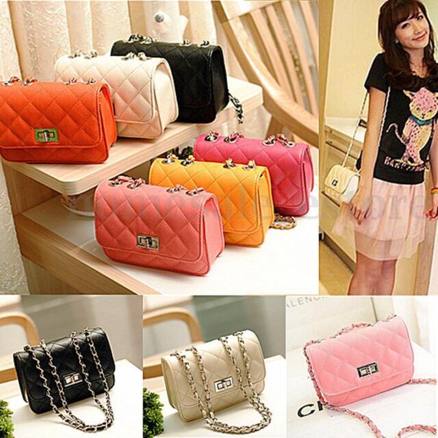 Fashion Women Lady Leather Korean Crossbody Bag Satchel Handbag Tote Messenger