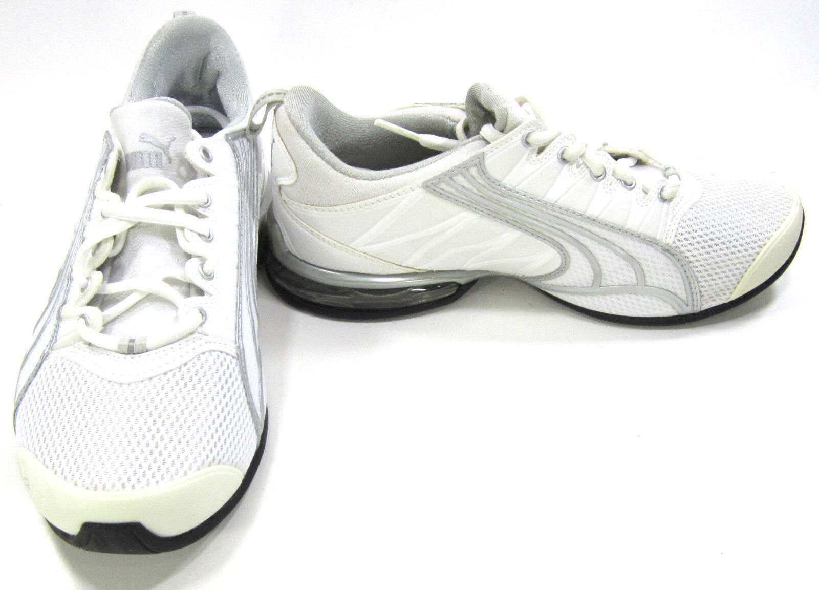 Puma Shoes Voltaic 2 Athletic White/Silver Sneakers Womens 6