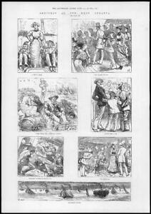 1881-Antique-Print-HAMPSHIRE-ISLE-WIGHT-RYDE-Regatta-Pier-Yachts-Boats-239