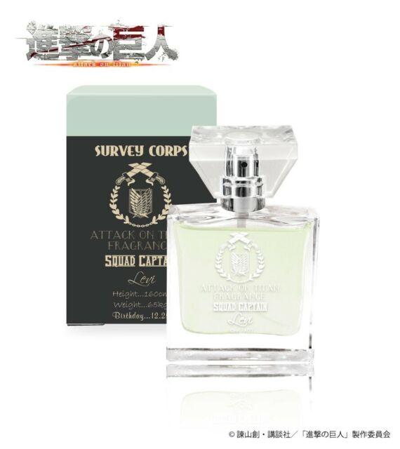 Attack on Titan Levi Fragrance Perfume 30ml primaniacs Japan Cosplay