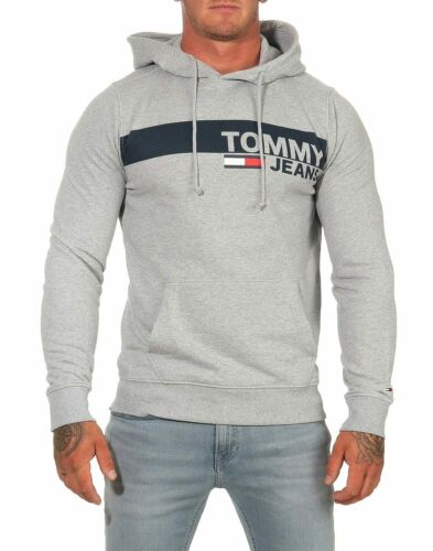 Tommy Jeans Essential Graphic Hoodie dm0dm06047 Pull 3 Couleurs Taille S M L XL