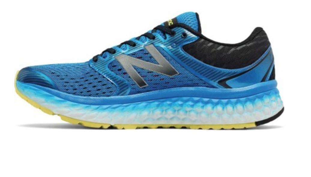 New Balance Homme Fresh Foam 1080v7 Bleu Running Sneakers 1106