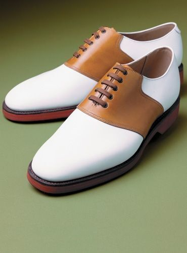 MEN HANDCRAFTED TAN AND WHITE FORMAL SHOES MEN TUXEDO PURE LEATHER SHOES