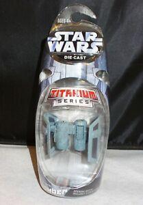 Star Wars Titanium Series Tie Bomber - Die Cast Metal - NEW!