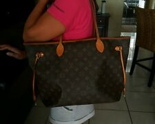 LOUIS VUITTON NEVERFULL MM  USA SELLER NO TAX 100% REAL DEAL TOTE BAG
