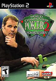 NEW-World-Championship-Poker-2-Featuring-Howard-Lederer-PlayStation-2-2005-PS2