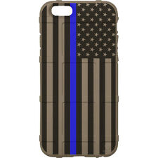 Magpul Field Case for iPhone 6,6s,7,7+. Blue Lives Matter,Thin Blue Line, Police