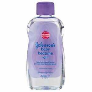 New 200ml Baby Bedtime Johnson S Oil Skin Massage With