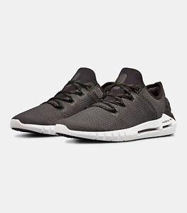 418124cc3ac Under Armour Mens UA HOVR SLK Running Shoes Mens Shoes Black White ...