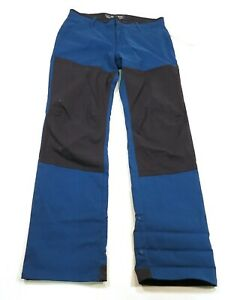90-Mountain-Hardwear-Men-039-s-Hardwear-AP-Pant-Size-32-034-Blue-Black-New
