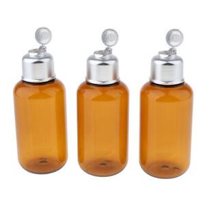3stk-Kunststoff-Quetschflasche-Kosmetikflasche-Reiseflasche-Fluessigkeit
