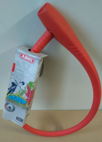 Farbe Rot Abus Ugrip Cable 560//65 Fahradschloss Blau Rosa Grau Neu /& Ovp