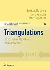 TRIANGULATIONS [97836421 - JORG RAMBAU, ET AL. JESUS A. DE LOERA (HARDCOVER) NEW