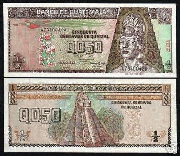 Quetzal P79 1992 Bird Temple Unc Latino