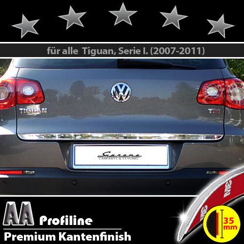 VW Tiguan 5N 2007-2011 Chrom Zierleiste 3M Tuning Heckleiste BREIT Kantenschutz