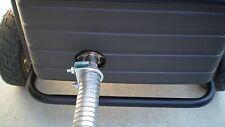 """Honda EU6500is & EU7000is Inverter Generator 1-1/2"""" steel exhaust extension 8 ft"""