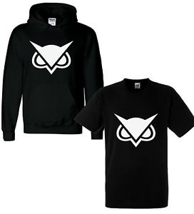 Vanoss-VG-Owl-Kids-Adults-Hoody-Hoodie-Pullover-Gaming-Gamer-Youtuber-Fortnight