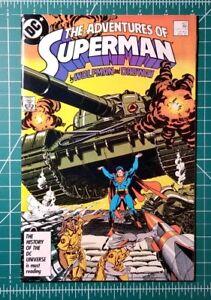 ADVENTURES OF SUPERMAN #425 DC COMICS 1987 VF//NM