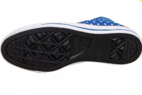 Uk Polka Bleu All Star Hi blanc 5 Taille 3 Dot Baskets rouge Converse WFnIqcpvx