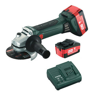 Metabo 18V 5.2 Ah Cordless Li-Ion 4-1/2in Angle Grinder Kit