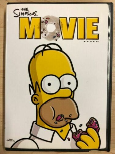 The Simpsons Movie Dvd 2007 Widescreen Simpson S David Silverman For Sale Online Ebay