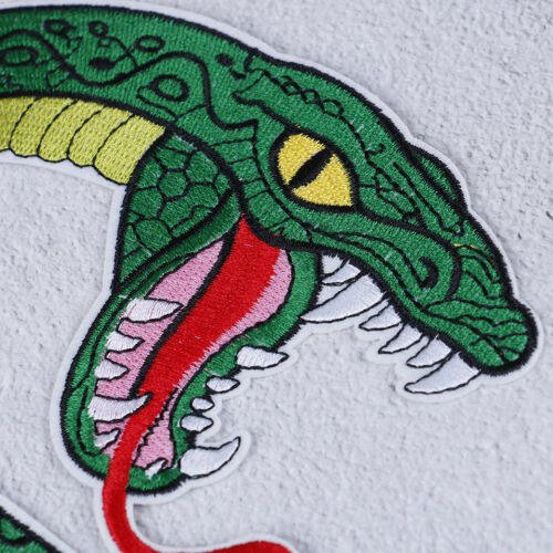 Green snake Southside Serpents patch iron on shirt bag jacket embroided badge JT