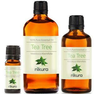 Tea-Tree-Essential-Oil-100-Pure-10ml-50ml-100ml-500ml-1-Litre-Nikura