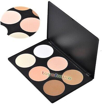 6 Color Makeup Cosmetic Blush Blusher Contour Palette
