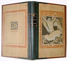 Anatole FRANCE : La Révolte des anges, Bois gravés par Siméon,1921, grand in-8