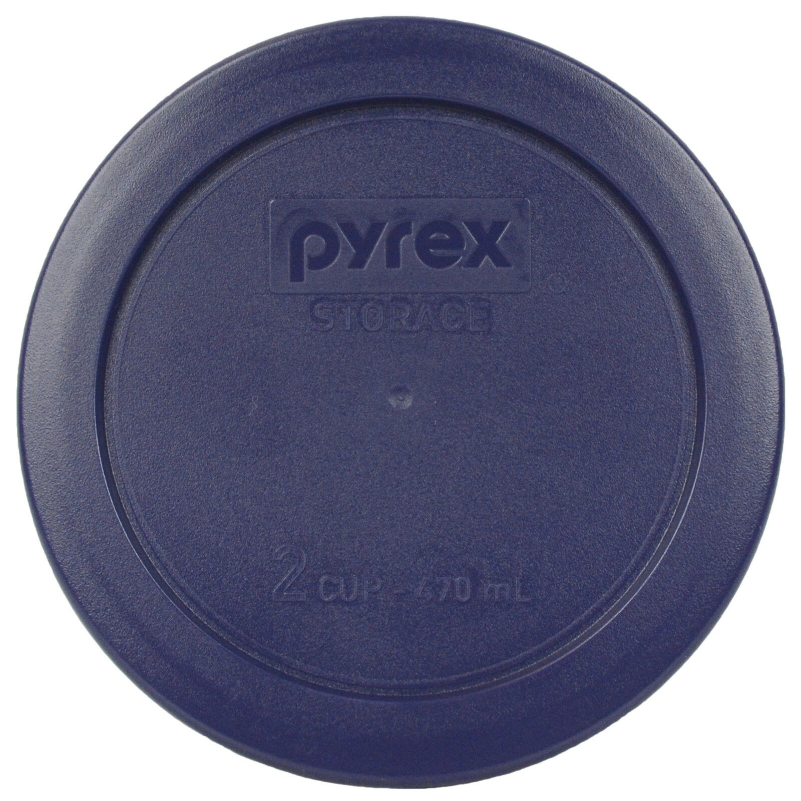 2-Pack Pyrex Simply Store 7200 Glass Storage Bowl w// 7200-PC Red Lid Cover