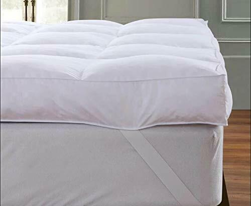 Queen Rose Mattress Pillow Topper Plush Pillow Top Mattress Pad