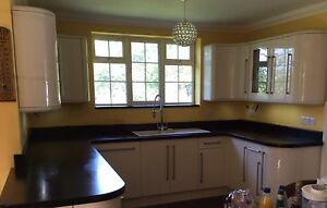 used granite worktops cut to size edges polished from 200. Black Bedroom Furniture Sets. Home Design Ideas