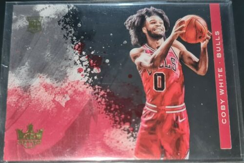 no.19 Coby White 2019-20 Panini Court Kings ACETATE ROOKIES Rookie Card