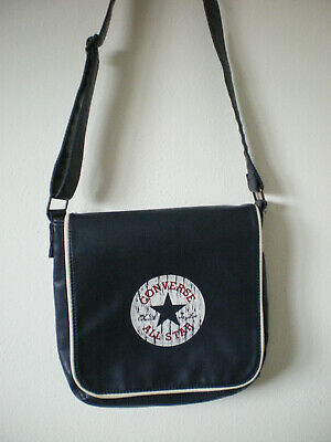 Converse Chuck Taylor All Star Chucks dunkelblau Umhängetasche Tasche Used Look   eBay