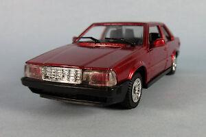 tonka polistil volvo 780 bertone coupe red 1 40 scale diecast model new rare ebay. Black Bedroom Furniture Sets. Home Design Ideas