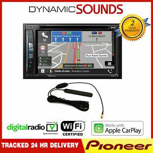 Pioneer-AVIC-Z720DAB-C-6-2-034-Nav-CarPlay-Android-Bluetooth-DAB-Stereo-Aerial
