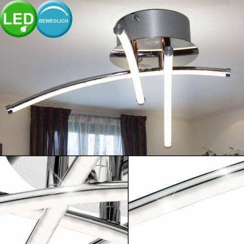 12 W LED Decken Energie Spar Lampe 3 Stäbe verstellbar Esszimmer Leuchte gebogen